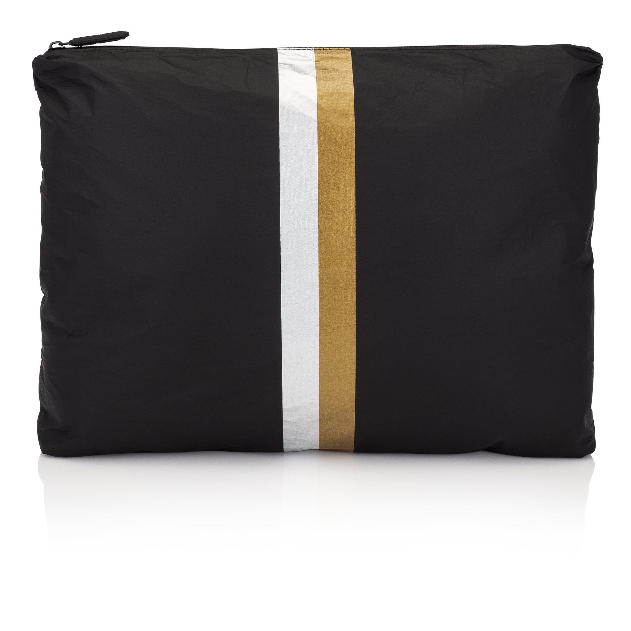 Jumbo Pack - Black HLT Collection with Metallic Silver and Gold Stripes