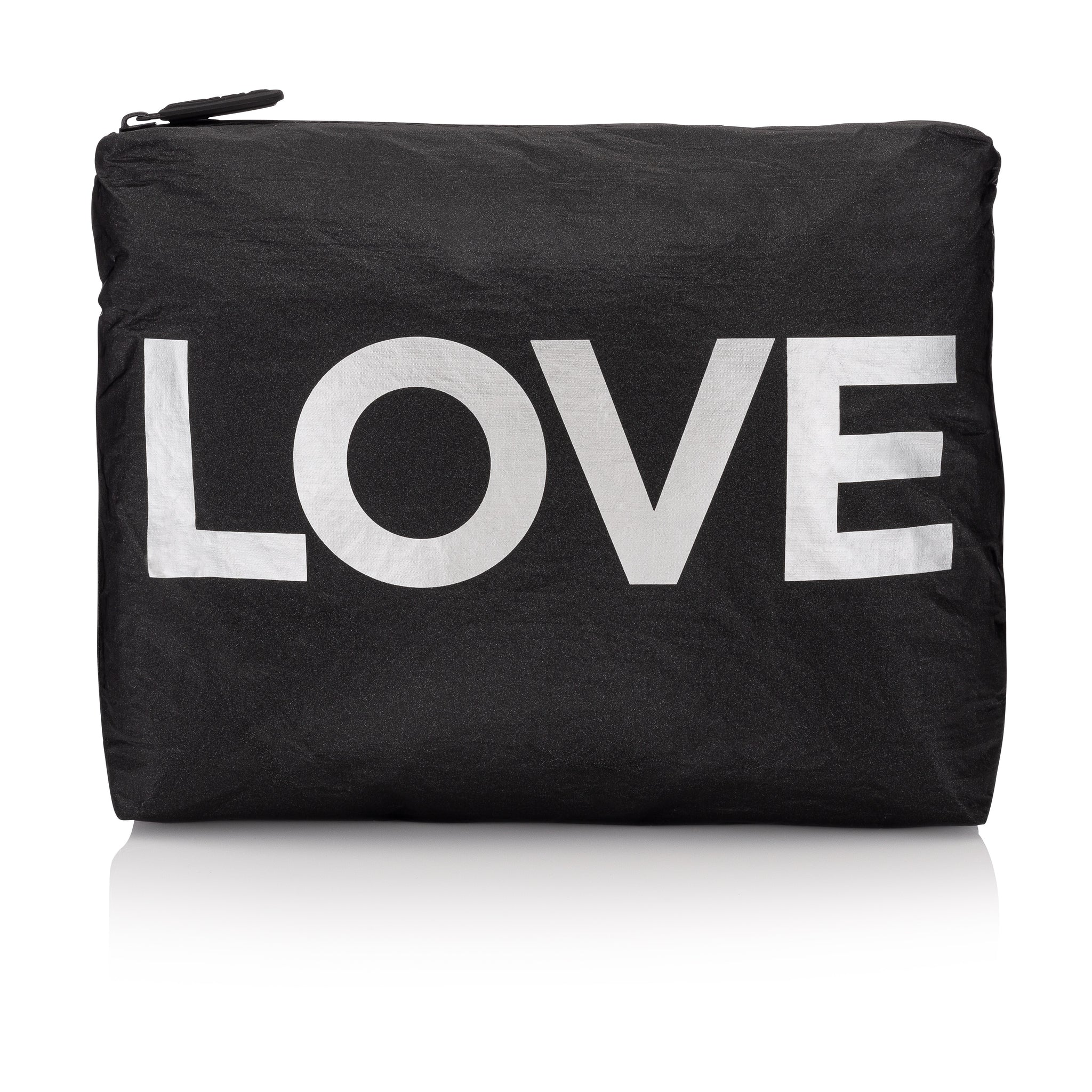 "Medium Pack - Black with Metallic Silver ""LOVE"""