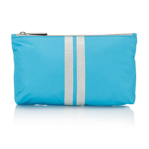 Cute Travel Pack - Mini Pack - Sky Blue with Shimmer White Stripes