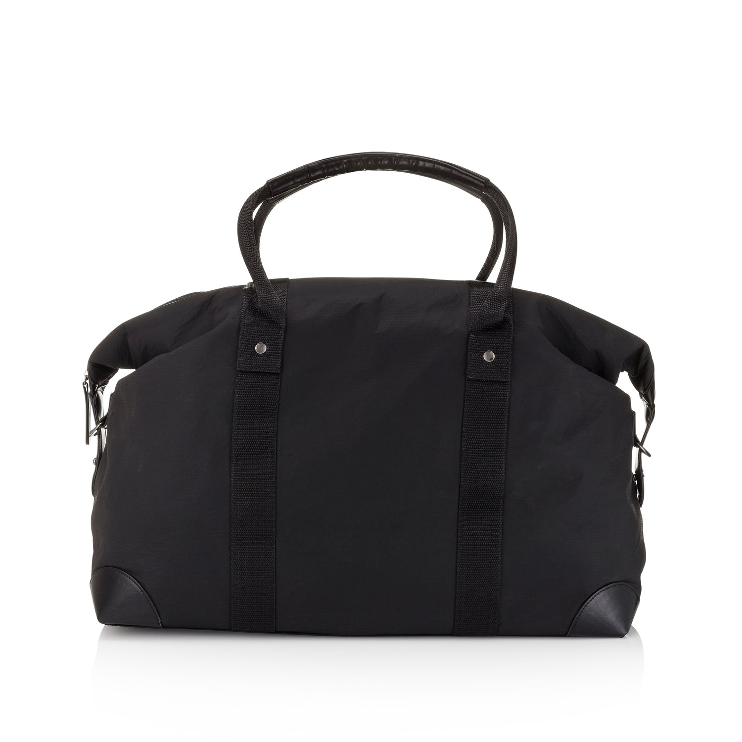 The Weekender Carry-On Travel Luggage Bag - Black