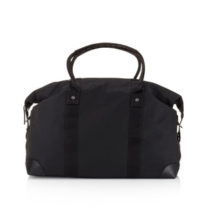 Hi Love The Weekender Black Travel Bag Carry On - Cute Weekend Duffle Bag