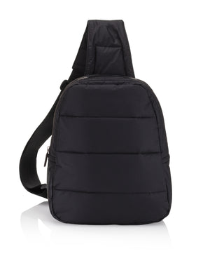 Hi Love Black Backpack Cute Mini Crossbody Fashion