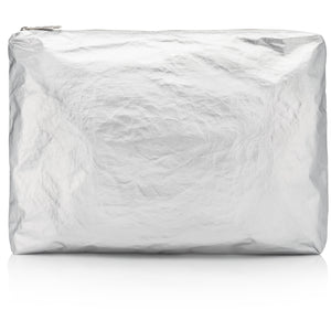 Travel Pouch - Jumbo Pack - Metallic Silver HLT Collection