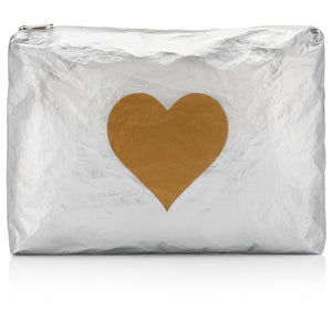 Jumbo Pack - Silver with Gold Heart