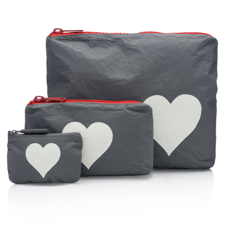 Set of Three Packs - Casa Tua Collection with a Heart