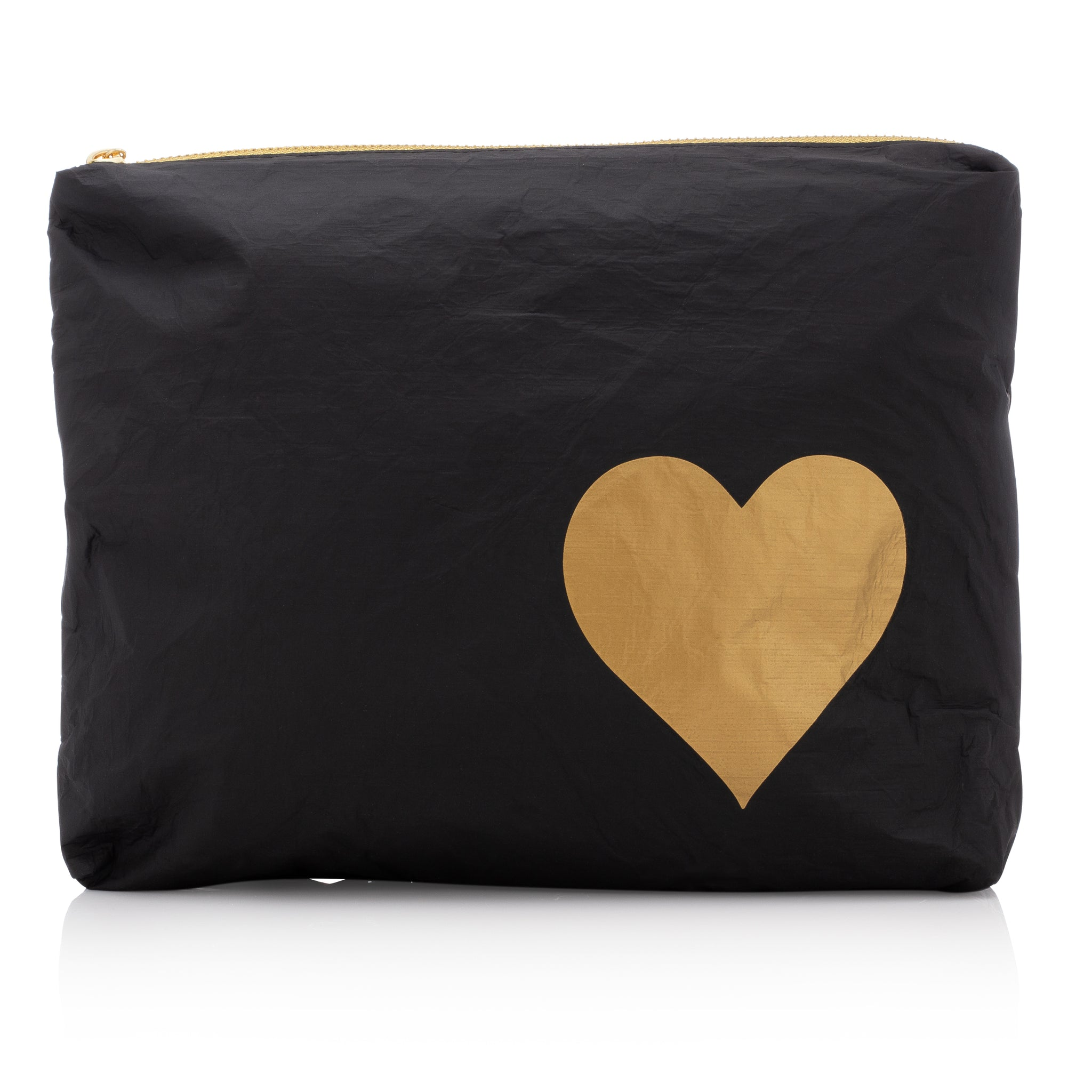 Medium Pack - Black HLT Collection with Metallic Gold Heart