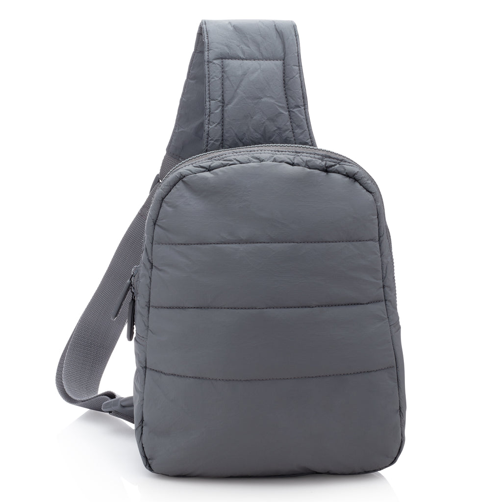 Crossbody Backpack - Cool Gray