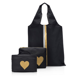"""The Essentials"" Set with Hearts and Stripes"