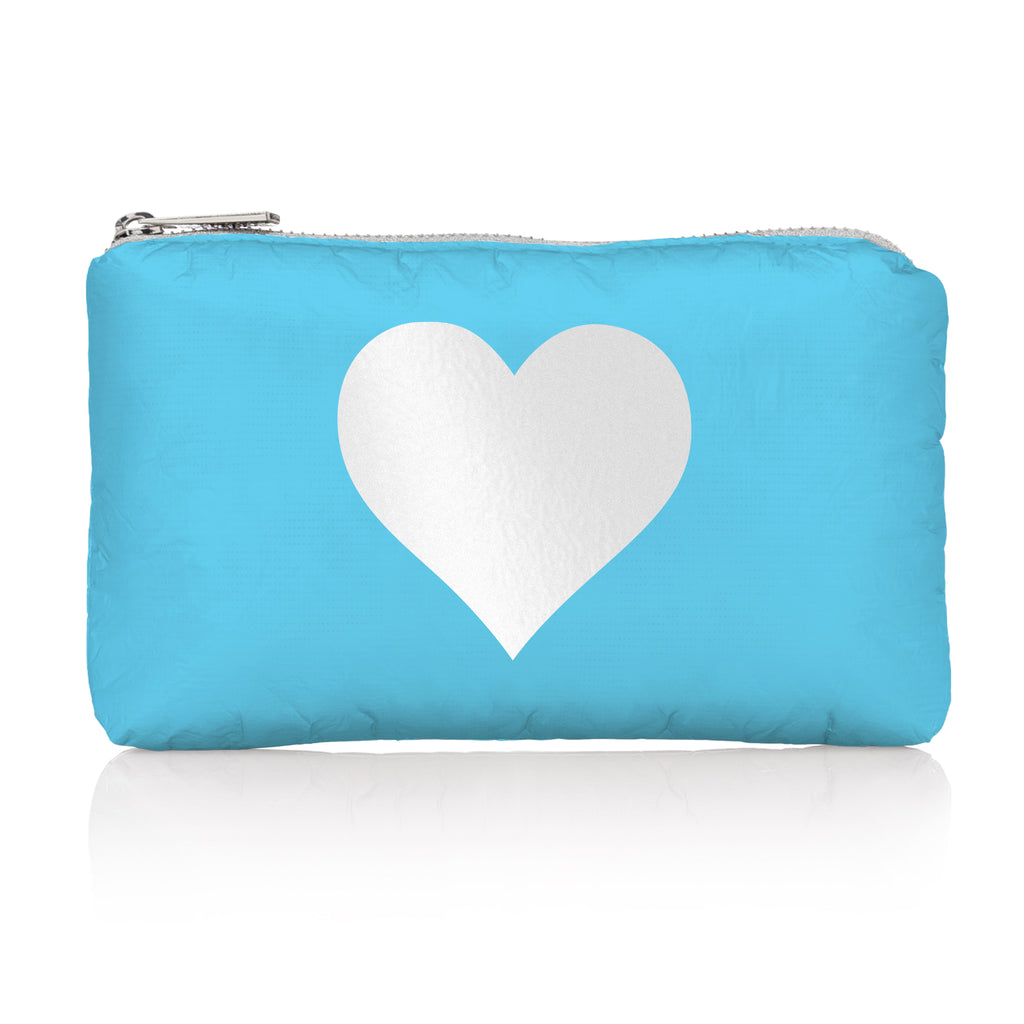 Mini Pack - Sky Blue with Silver Heart