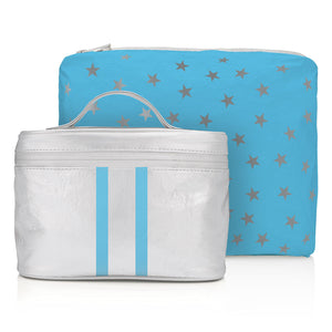 Cute Cosmetic Case Lunch Box Hi Love Sparkle & Shine Cosmetic Set Makeup Pouch