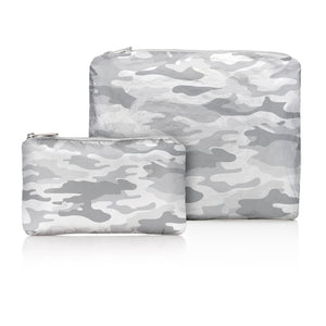 Set of Two Packs - Metallic Silver Camo