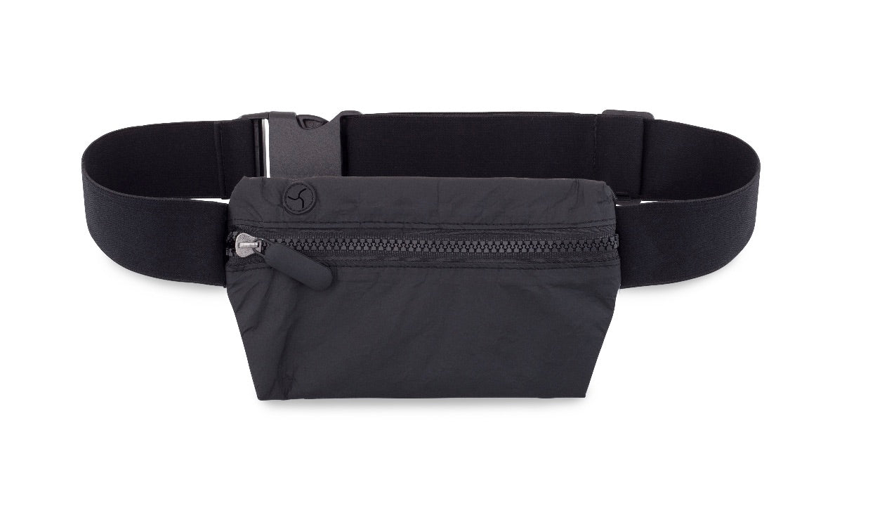 Cute Lightweight Hi Love Fanny Pack - Black II Splash Resistant