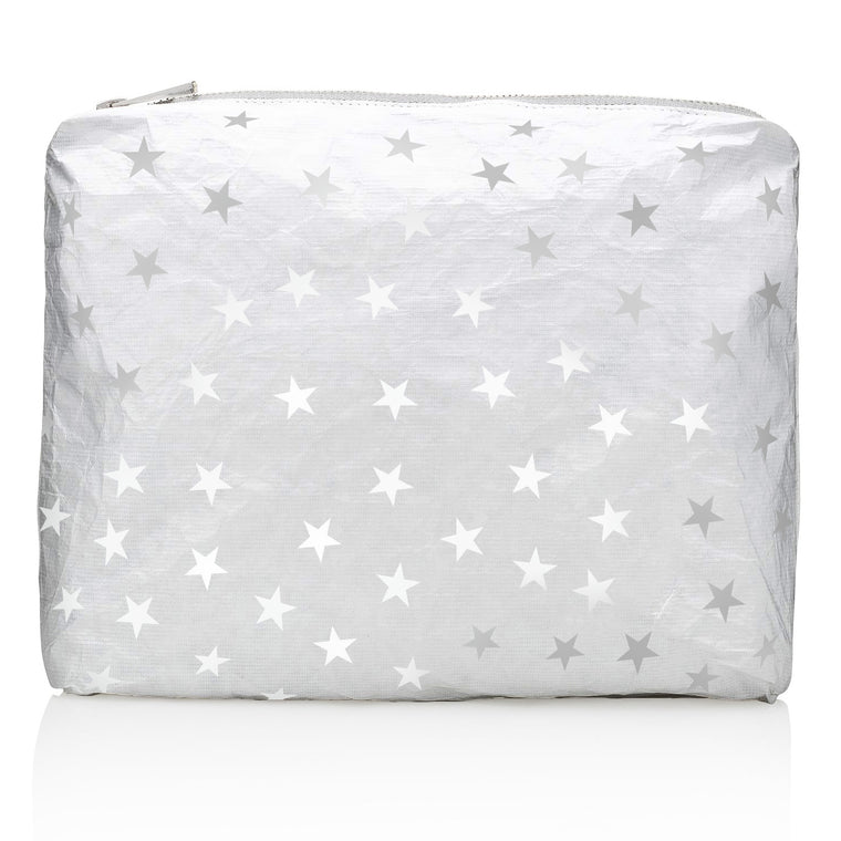 Medium Pack - Metallic Silver Collection with Myriad White Star