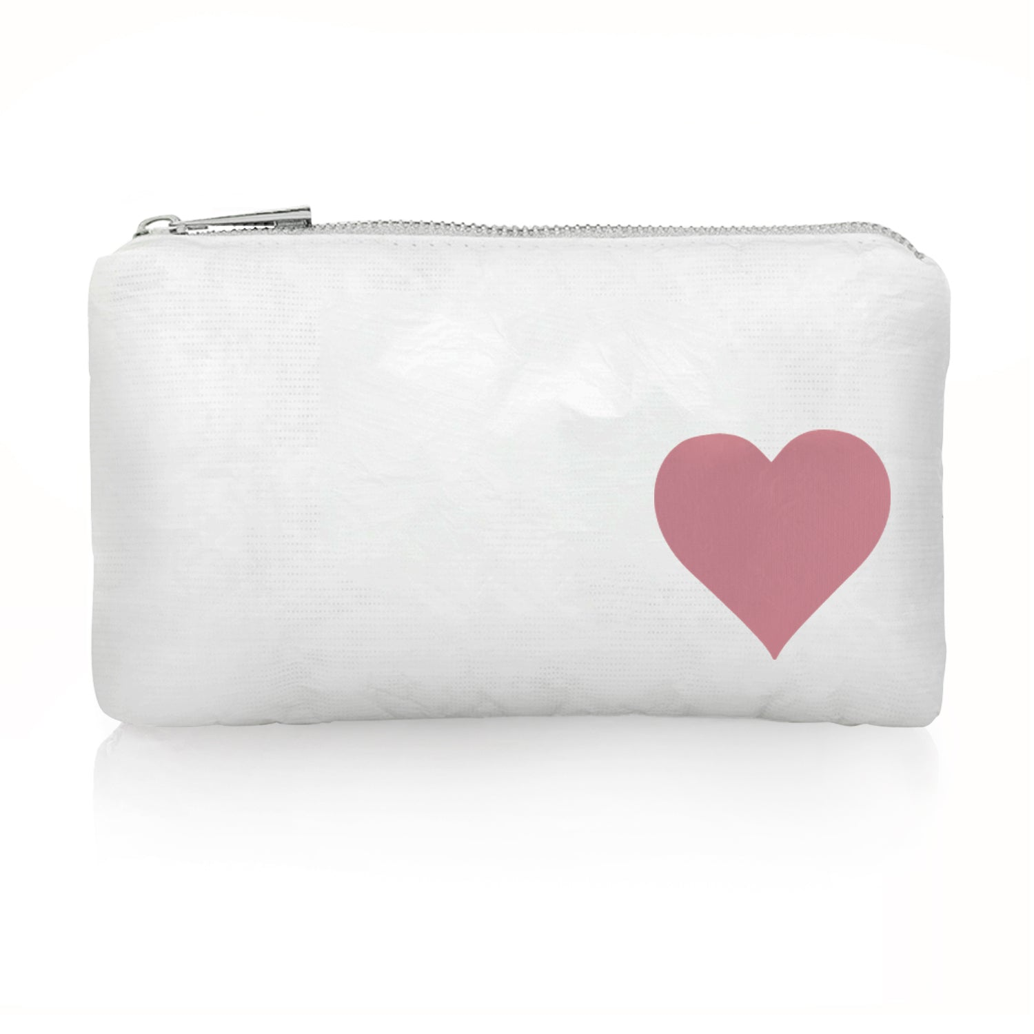 Mini Padded Pack - Shimmer White with Fairy Pink Heart