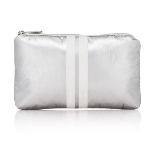 Mini Padded Pack - Metallic Silver Collection with White Lines