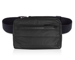 Puffer Fanny Pack - Black