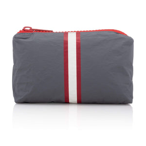 Cute Travel Bag - Mini Pack - Casa Tua Collection with Red and Cream Stripes
