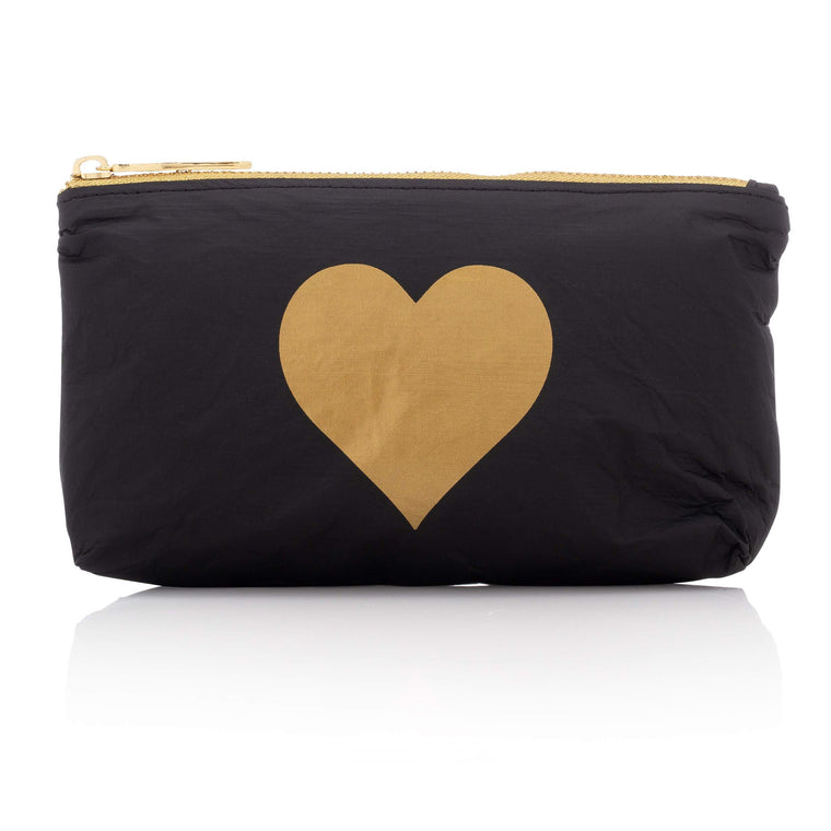 Mini Pack - Black HLT Collection with Metallic Gold Heart
