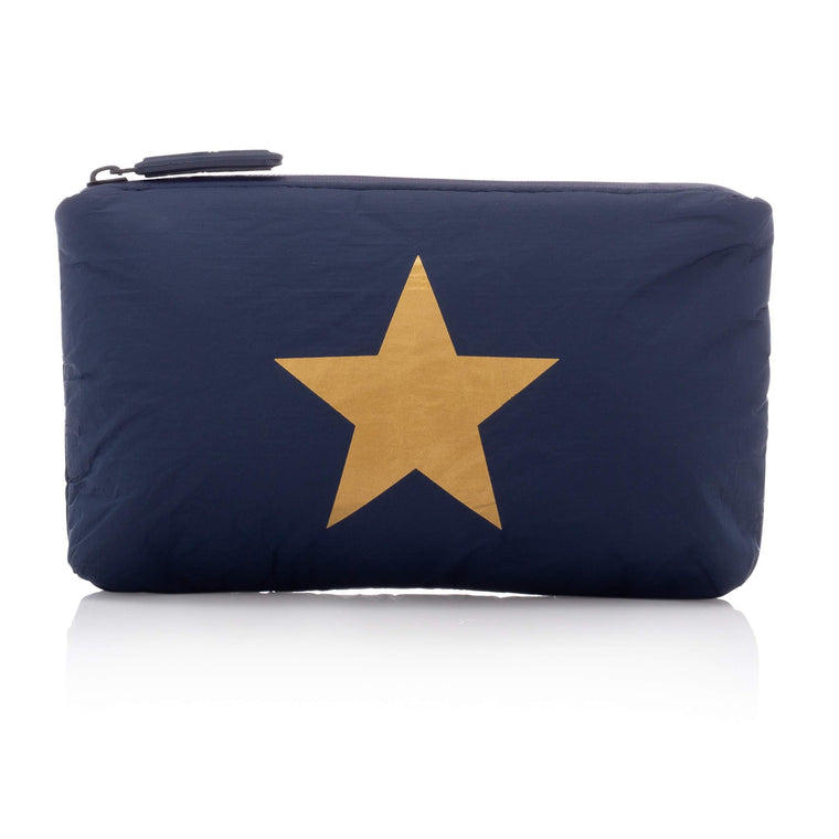 Mini Padded Pack - Navy HLT Collection with Metallic Gold Star