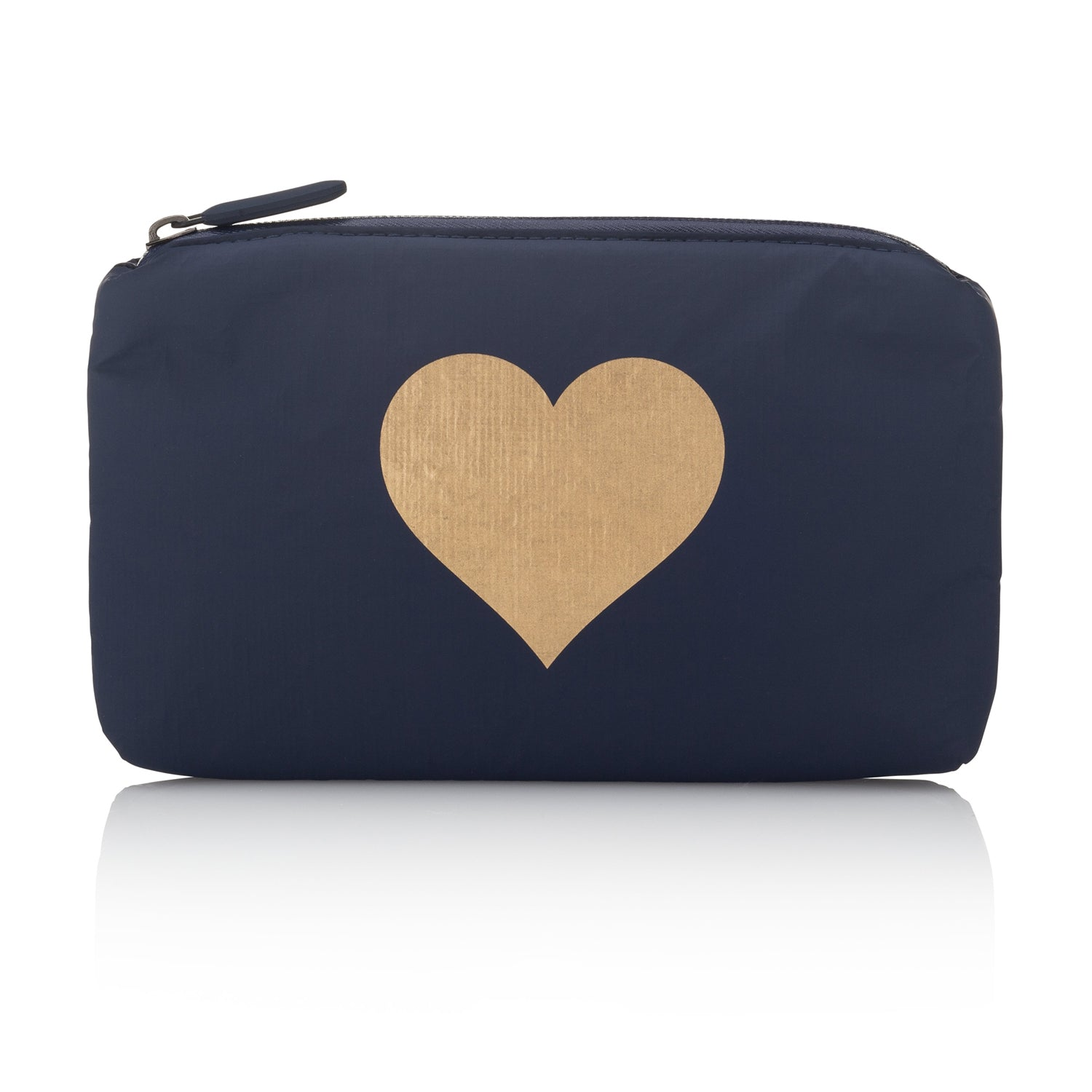 Mini Padded Pack - Navy HLT Collection with Metallic Gold Heart