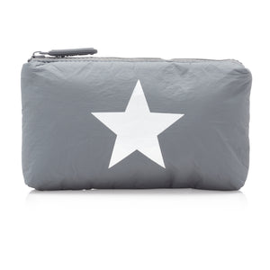 Mini Padded Pack - Cool Gray with Metallic Silver Star