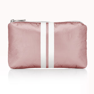 Cute Travel Pack - Mini Pack - Shimmering Pink Sands with White Stripes