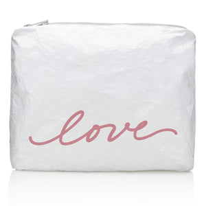 "Medium Pack - Shimmer White with Fairy Pink Script ""love"""