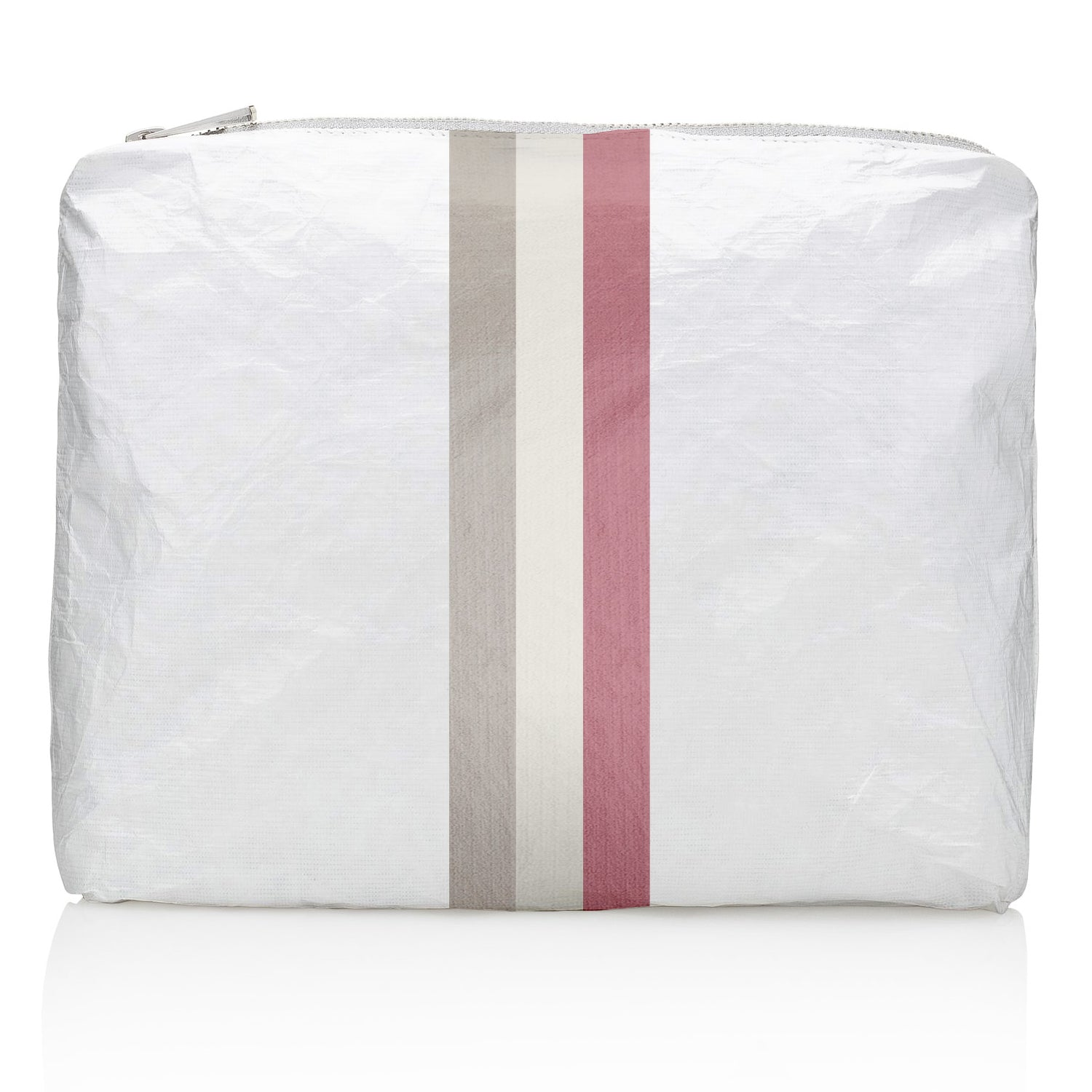 Medium Pack - Shimmer White with Fairy Pink Stripes