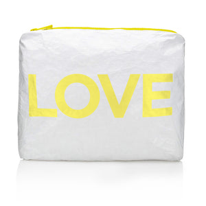 "Medium Pack - Shimmer White with Lemon Fizz ""LOVE"""