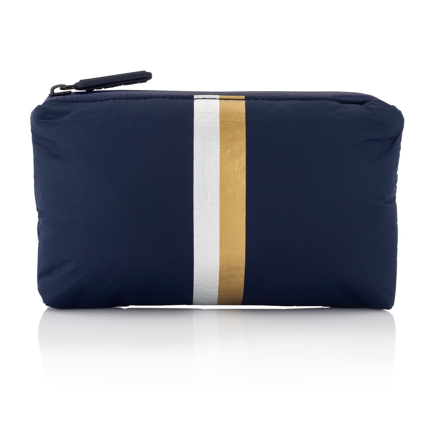 Mini Padded Pack - Navy HLT Collection with Double Metallic Lines
