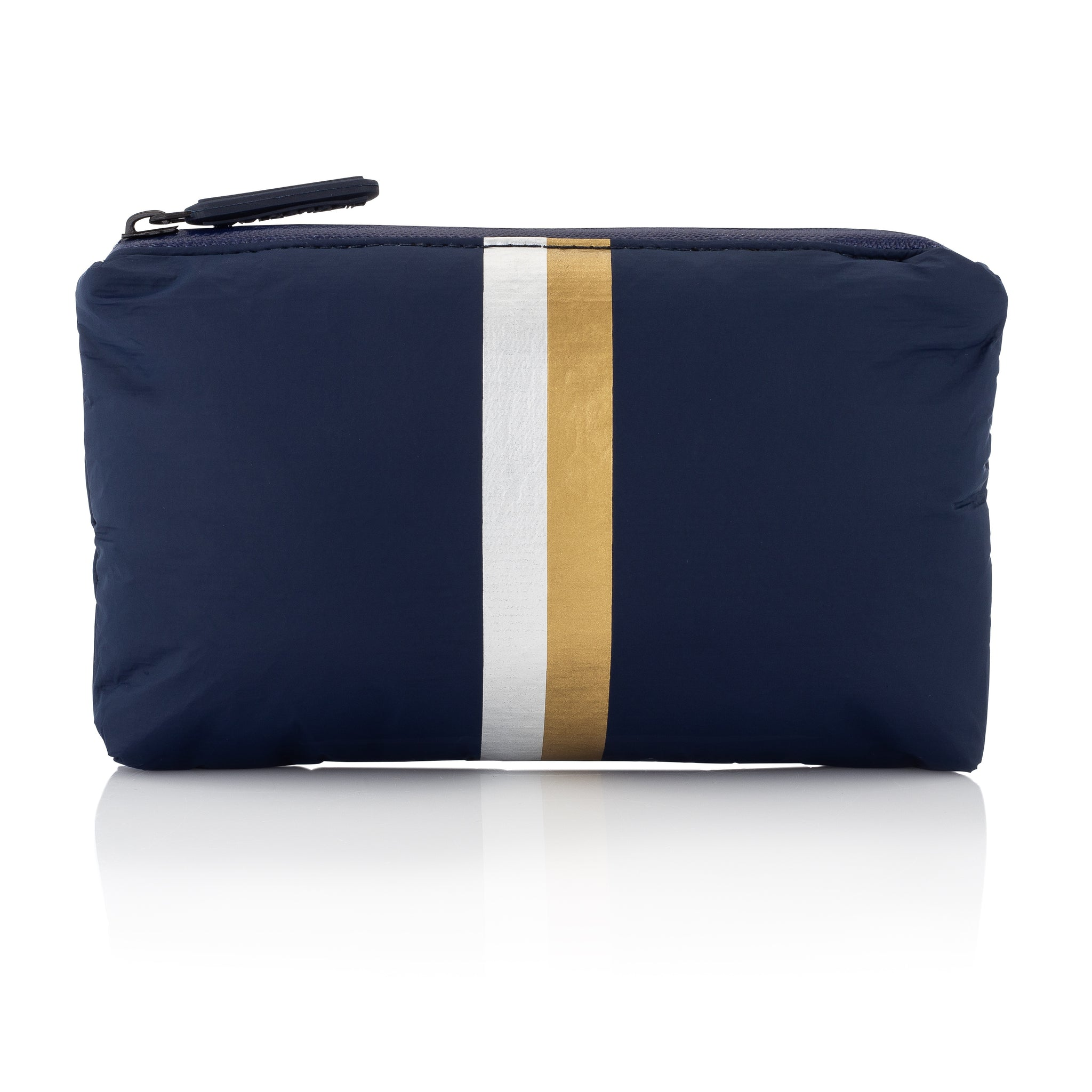 Cute Travel Pack - Mini Pack - Navy HLT Collection with Metallic Silver and Gold Stripes
