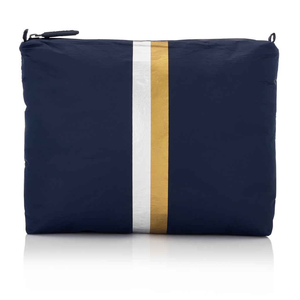 Medium Pack - Navy HLT Collection with Double Metallic Lines