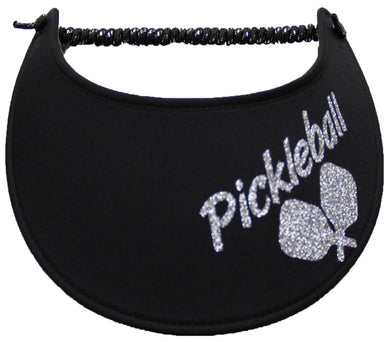 Foam Sun Visor with pickle-ball paddles