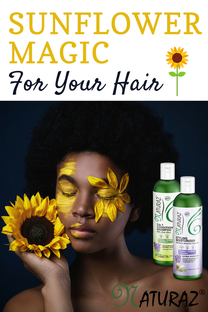 Sunflower Magic For Your Hair!