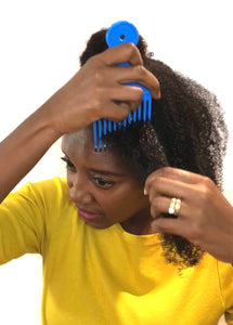 How To Detangle Your Natural Hair type