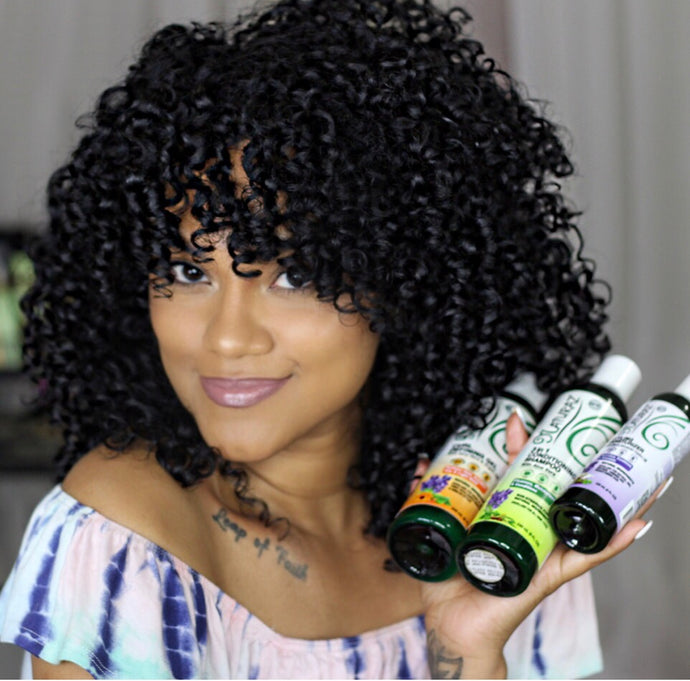 Fastest Wash & Go For Type 3 Hair!