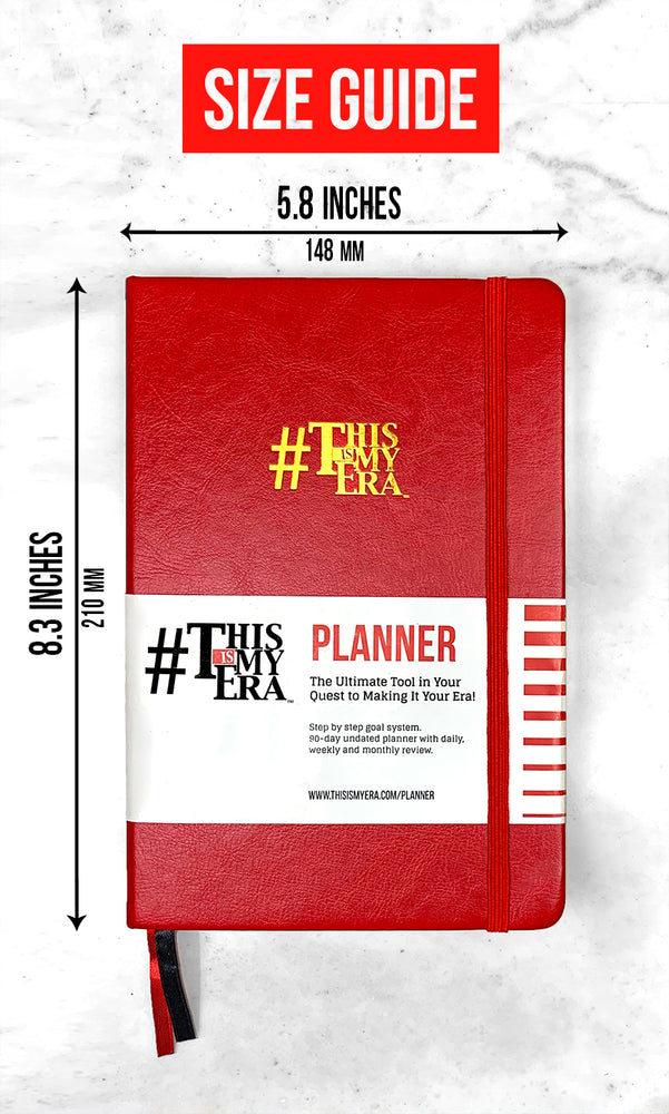 #ThisIsMyEra 90 Day Planner - Yellow