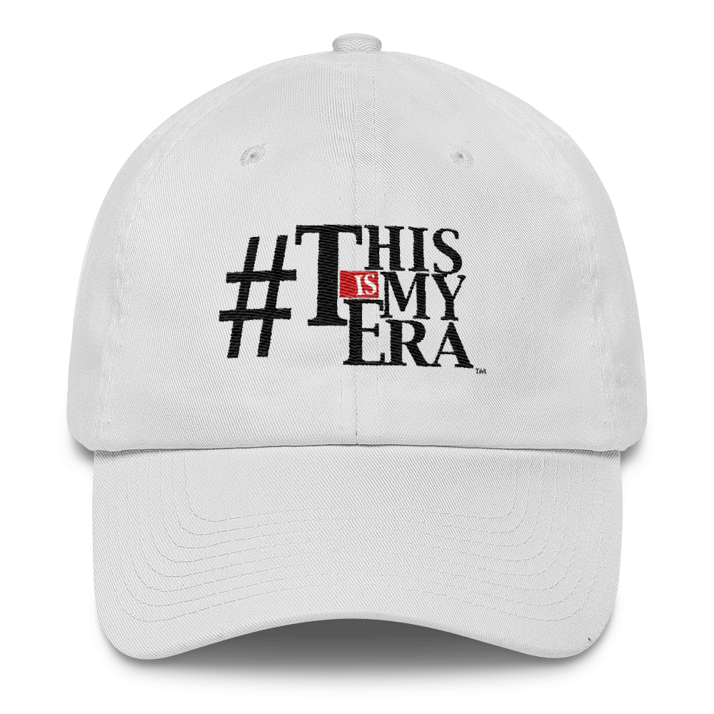 #ThisIsMyEra Unstructured Cotton Cap
