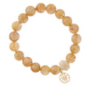Victoire Rutilated Quartz Stretch Bracelet