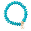 Amazonite Stretch Bracelet 11mm