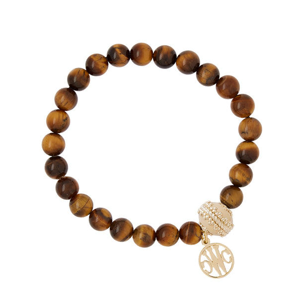 Victoire Tiger's Eye Stretch Bracelet  8mm