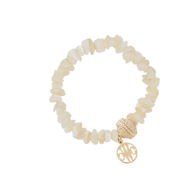 Pearl Chip Stretch Bracelet