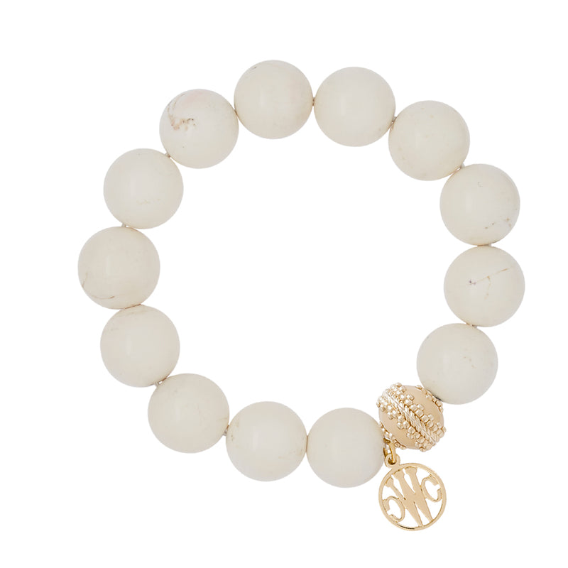 Victoire Stone Stretch Bracelet 13.5mm