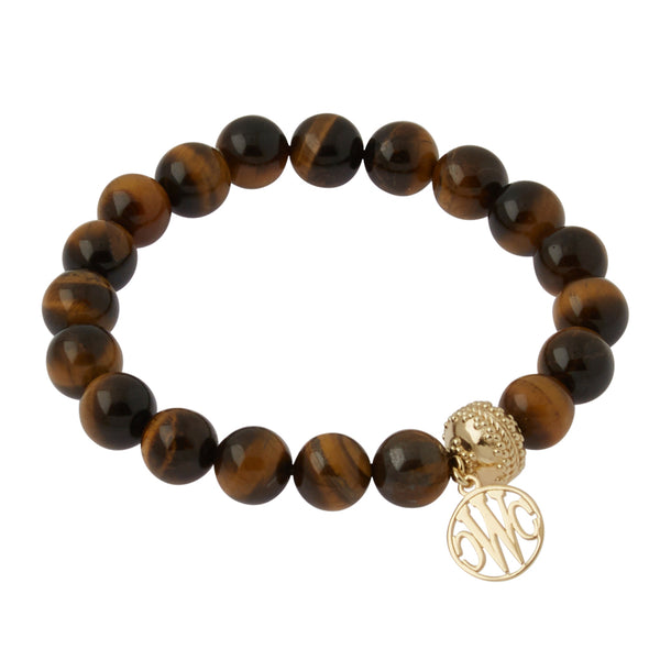 Victoire Tiger's Eye Stretch Bracelet 10.5mm
