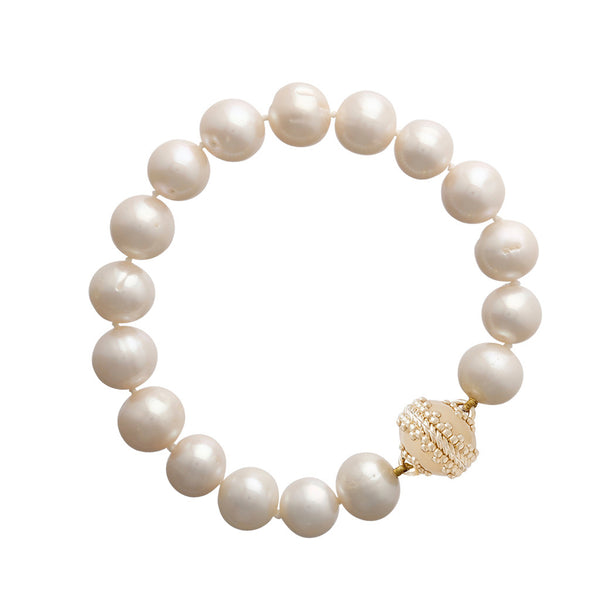 The White Pearl Bracelet
