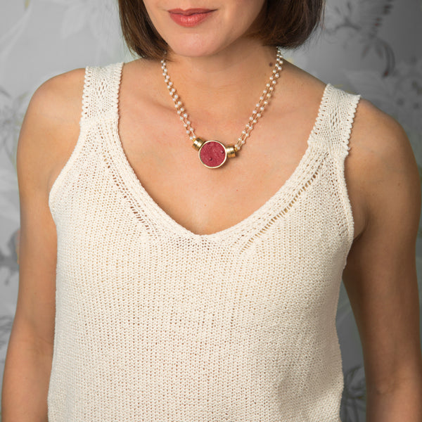 Margaret Double Strand Necklace