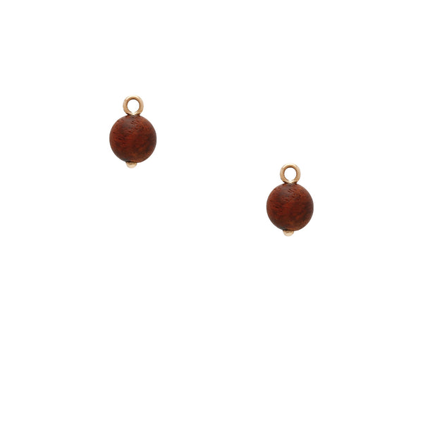 Zitan Wood Earring Drops