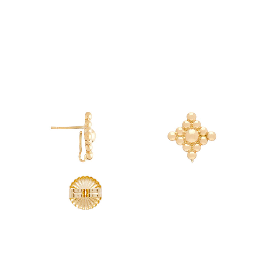 The 18K Micro Filigree Earrings