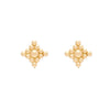 18K Large Filigree Earrings