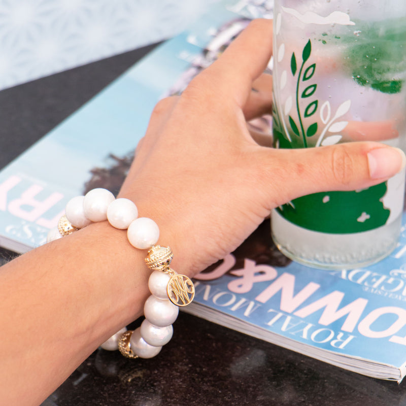 Signature Pearl Stretch Bracelet